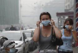 ВОЗ заявила, что городской смог вызывает рак