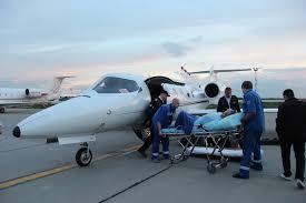 Авиа транспортировка лежачих больных