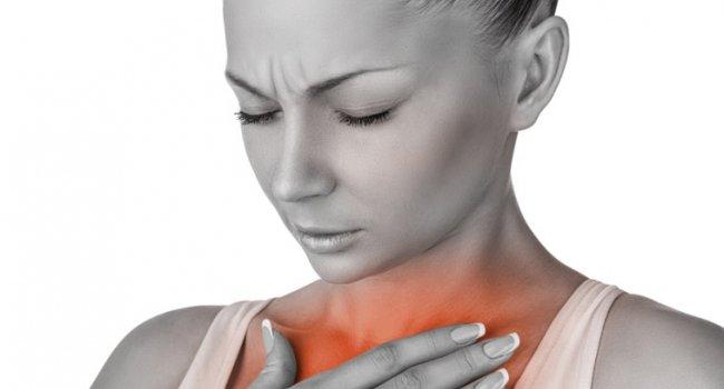 Изжога повышает риск развития рака горла и миндалин