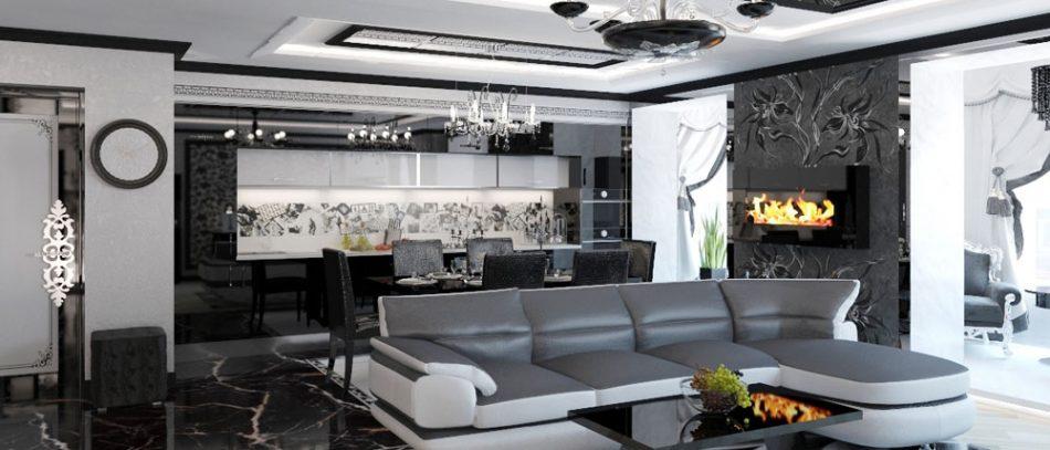 Дизайн своей квартиры в стиле модерн