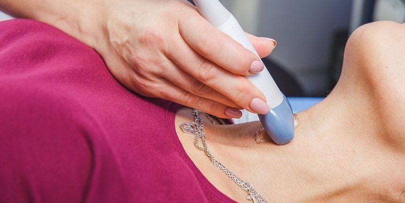 Эластография молочной и щитовидной железы, печени