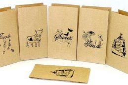 Печать логотипов на пакетах