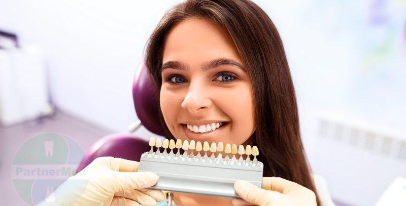 Как выбрать цвет зубов в стоматологии при протезировании