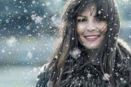 Здоровые волосы зимой