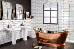 Как обновить интерьер ванной комнаты: бюджетный способ