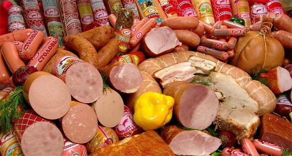 Продукты провоцирующие рак
