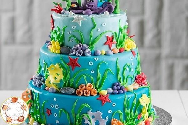 Детские тортики на заказ: качественно и недорого